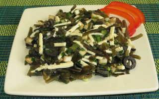 Морская капуста салат рецепт