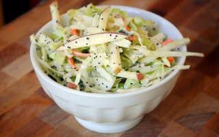 Салат капуста морковь яблоко майонез