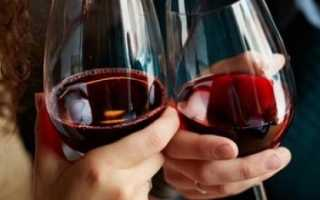 Полезные и вредные стороны красного сухого вина