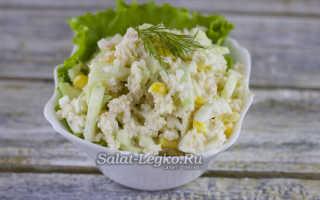 Рецепт салата из мяса криля