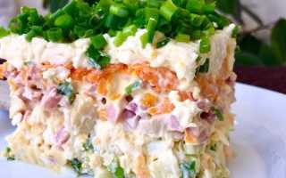 Рецепт салата с грибами