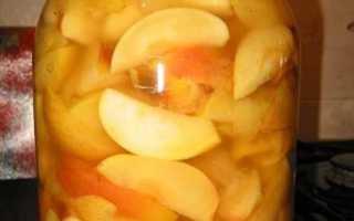 Яблоки в сиропе на зиму без стерилизации