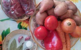 Рецепт кавардак из картошки с мясом