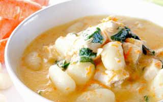 Манные клецки для супа