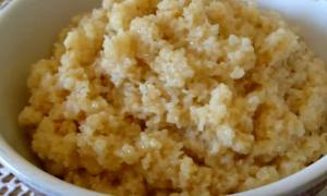 Каша из пшеницы