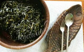 Морская капуста бантиком как готовить