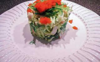 Крабовое мясо салаты рецепты
