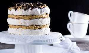 Торт графские развалины из готовых бисквитных коржей