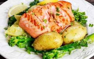Как приготовить горбушу рыбу с картошкой в духовке