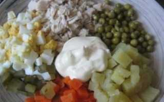 Салат оливье пп