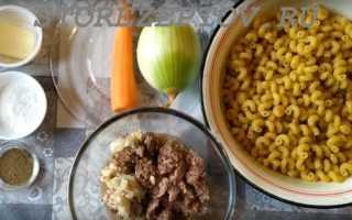 Как готовить тушенку с макаронами