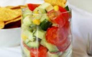 Рецепты салатов из сырых овощей