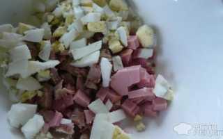 Салат оливье без огурцов