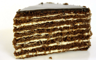 Классический армянский торт Микадо