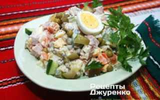 Как готовить салат оливье рецепт