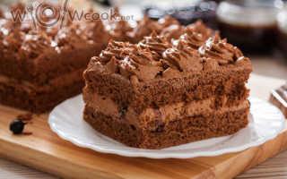 Испечь торт шоколадный быстро