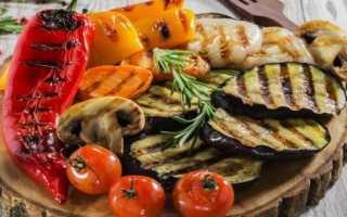 Маринад для овощей гриль на мангале рецепт