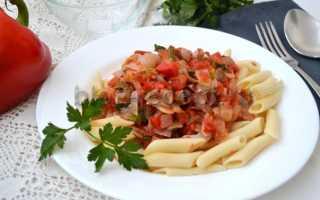 С чем приготовить макароны без мяса