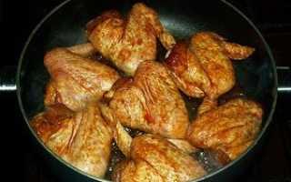 Пожарить хрустящую курицу на сковороде