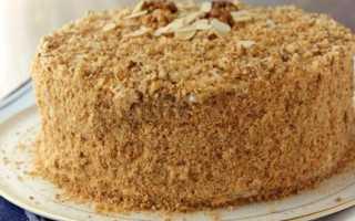 Пирог со сгущенкой и печеньем рецепт