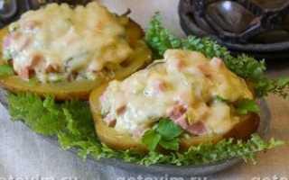 Картошка с начинкой