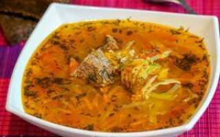 Как приготовить пшенный суп