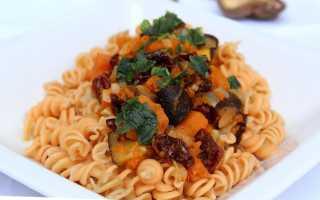 Тыквенный соус к макаронам