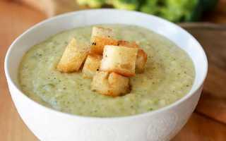 Суп пюре из морепродуктов