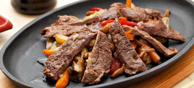 Блюда из овощей и мяса