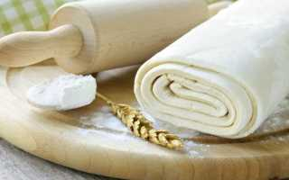 Дрожжевое и бездрожжевое слоеное тесто