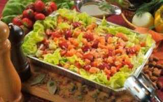 Французский салат рецепт с мясом