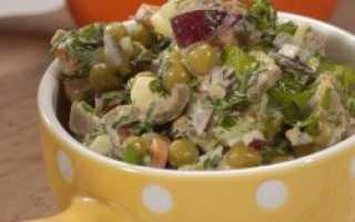 Салат с языка свиного рецепт самый вкусный