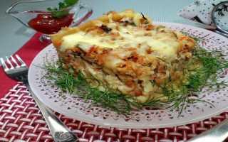 Запеканка из макарон рецепт в духовке