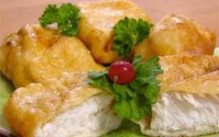 Рецепт жареной рыбы в кляре на сковороде