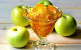 Варенье из антоновских яблок с апельсинами