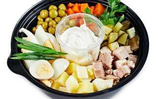 Чем полезен салат оливье