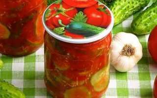 Нарезанные огурцы в томатном соке на зиму