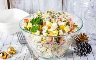 История возникновения салата оливье