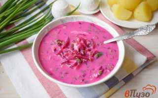 Суп с кефиром