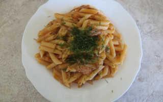 Как приготовить тушенку с макаронами на сковороде