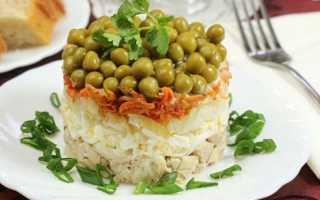 Мясной салат купеческий очень вкусный