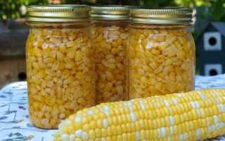 Как закрыть кукурузу в зернах на зиму