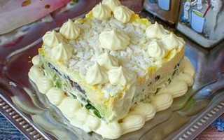 Рецепт салатов с грибами шампиньонами