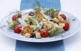Салат морепродукты рецепт