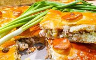 Как сделать картофельный пирог
