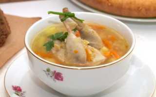 Суп из перепелов рецепт приготовления