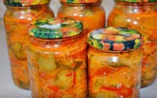 Рецепт салатов овощных на зиму в банках