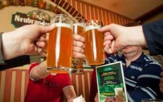 Время выветривания пива