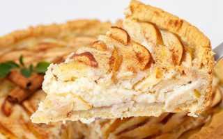 Яблочный пирог из слоеного теста пошаговый рецепт