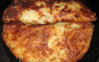 Картофельные блины с начинкой